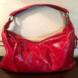 Hobo International Paulette Fuchsia Shoulder Bag